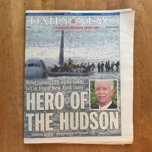 "Hero of the Hudson ""Sully"""